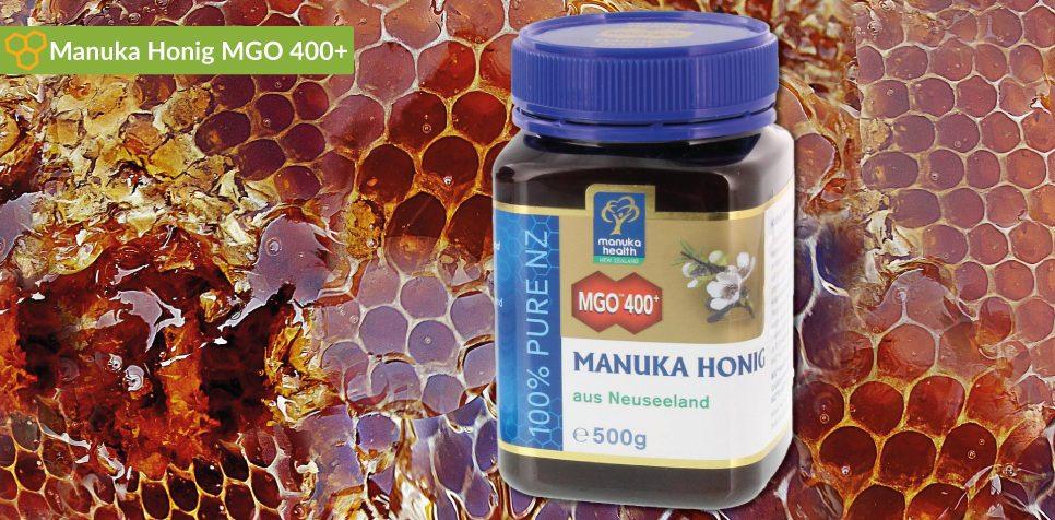 Manuka Honig MGO 400 Erfahrungsberichte, Preivergleich, Anwendung und Dosierung.