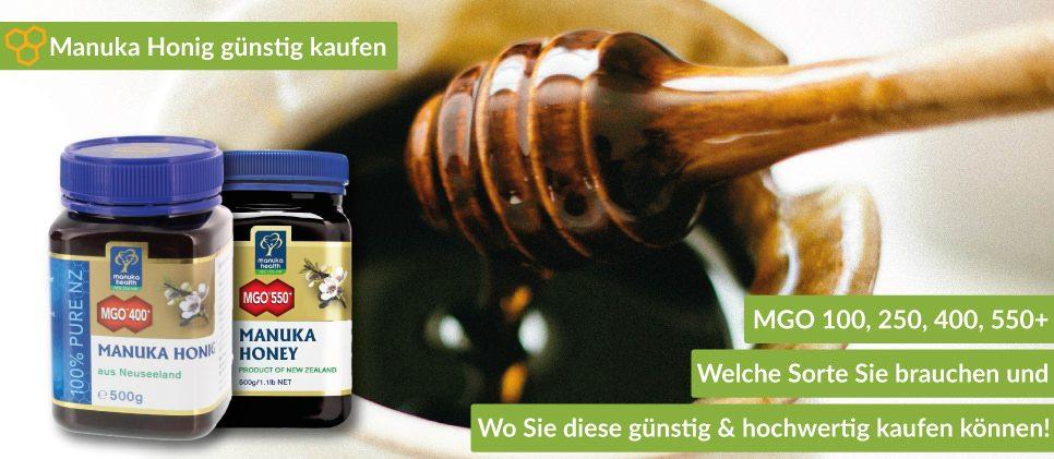 Manuka Honig kaufen: Günstig online, in Apotheke, Reformhaus oder direkt in Neuseeland.