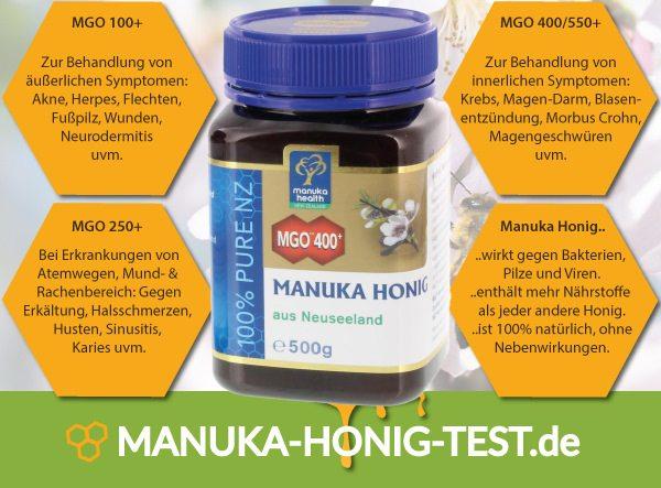 Original Manuka Honig aus Neuseeland im Test.