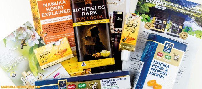 Neuseeländische Honig-Produkte im Test.